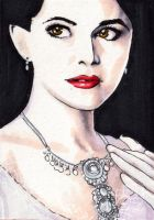 OUAT Snow White-ACEO by Faerytale-Wings