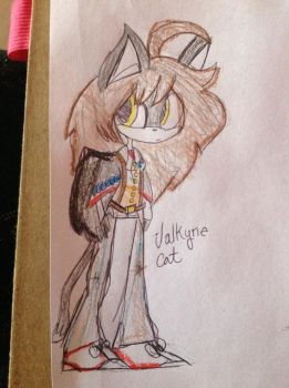 Valkyrie Cat by Silverfan4EVER123