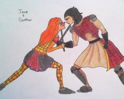 Jane and Gunther by Abby-Gale