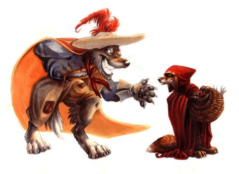 Hey There Riding Hood. by kenket