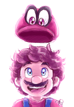 super mario odyssey by Rainmaker113