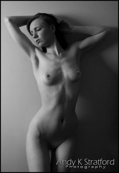 Chrissie: Nude 5 by GoldenMonkee