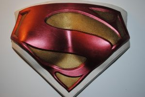 SuperGirl Chest Plate - Cast by ZigorC