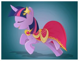 Twilight's New Dress by Pegasi-Thunder