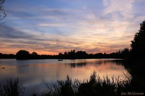 September sunset . by 999999999a