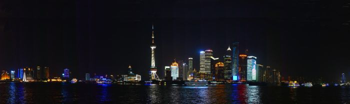 Shanghai Harbour Panorama by WhisperingSoul