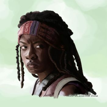 Michonne (Walking Dead) by duralict
