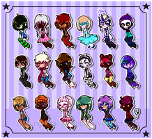 {On Sale 80 Points}Random Adopt Set 30(Open 3/18) by Shining-Star-Adopts