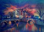 Amsterdam Lights by nokeek