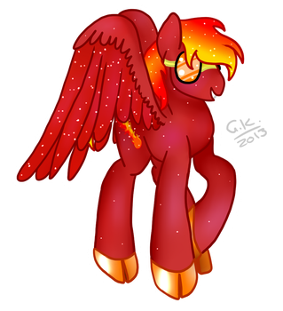 Comm : Blaze by BusyBeingClever
