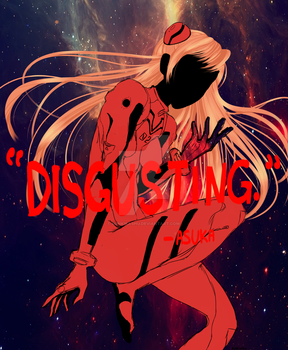 Asuka Quote Print by Niinkikashu