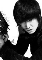 City hunter - Lee Min Ho by WilliamTin