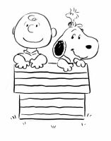 Charlie Brown and Snoopy by AriellaMay