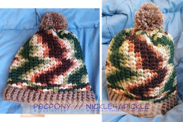 Trinity Hat: Woodsy by pbcpony
