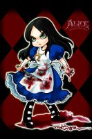 Q Alice Madness Returns by michivvya