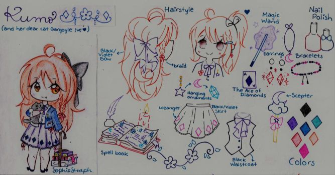 Kumo_Reference Sheet by SophieSeraph