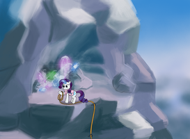 Training Ground Day 4 - Rarity at the peak by MacchiatoJolt