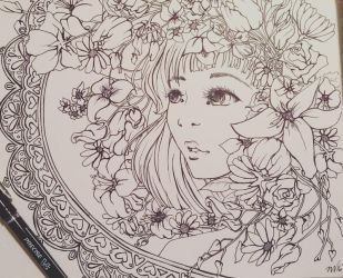 Floral  by Loilie