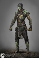 Reptile alt MKX by Raggedy-Annedroid