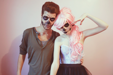Skull faces by LucieWay