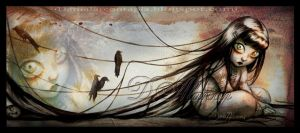 Crows I by Maese