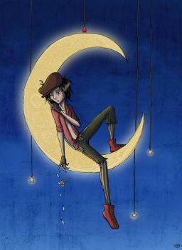 The Boy in the Moon by zoziejane