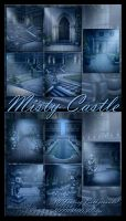 Misty Castle backgrounds by moonchild-ljilja