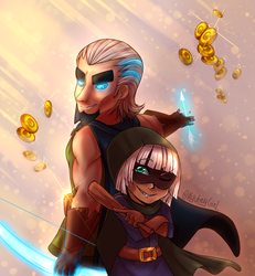 Clash Royale - Partners in crime [Lighting Fixed] by Daniela-Arts