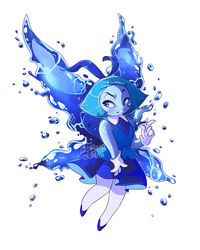 ~Aquamarine ( with Speedpaint video!)~ by Frikkan