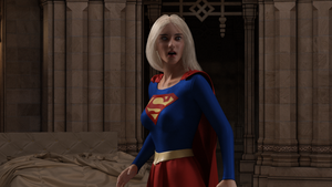 Supergirl trapped by Selena - 02 by rustedpeaces