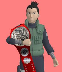 ACW Raw - Shikamaru Nara (Raw Tag Team Champions) by JoeyTribbiani125