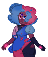 Cotton Candy Garnet by Aaron-Goforth