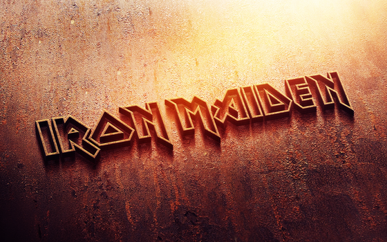 Iron Maiden logo by croatian-crusader