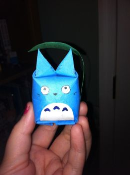 Totoro origami by Ash-a-bash