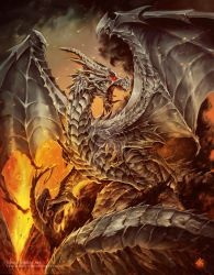 Steel dragon 7 Magos Cover book by Chaos-Draco