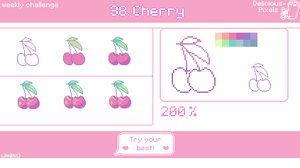Weekly Challenge 38 - Cherry by Lanahx3