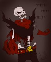 underfell - Papyrus by Arinna1