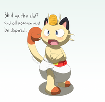 Meowth by Chaptude