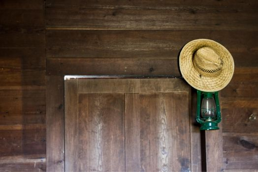 Old Farm Hat by DeadLetterDesign
