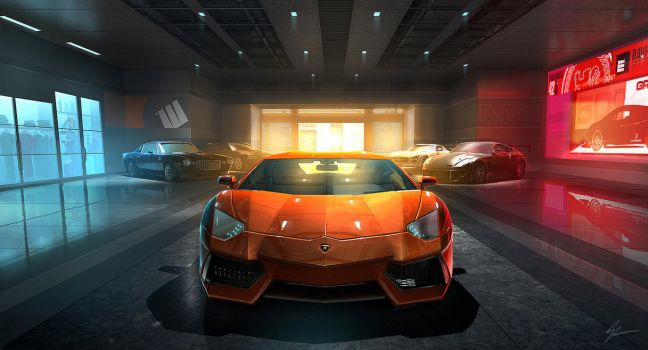 Concept painting - Grid 2 by ANTIFAN-REAL