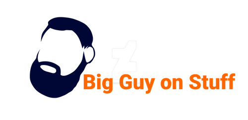 Big Guy on Stuff Logo by SerafinaMoon