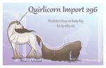 Quirlicorn Import 296 by SWC-arpg