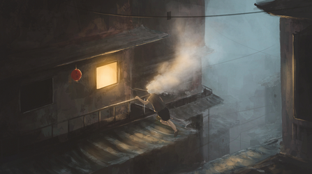Sketch Day 70 + Cinemagraph + Ambient Sound by theflickerees
