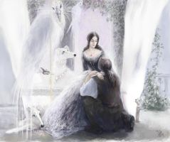 Earendil at his great-grandmother by Irsanna