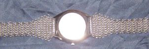 Chainmaille watch Band by Des804