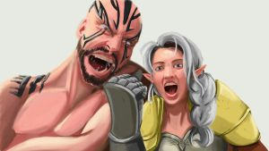 Pike And Grog by Cheshireviqq