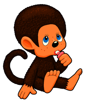 Monchhichi Clipart by MisterBug