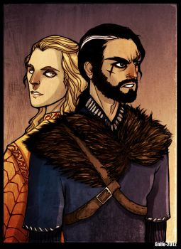 Fitz and Lord Golden by Enife