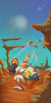 Earthworm Jim by sacking-jimmy