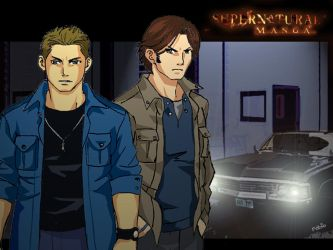 Supernatural - Manga Version by Rekkiem